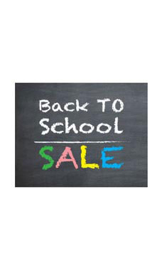 Small Back to School Sale - Chalkboard