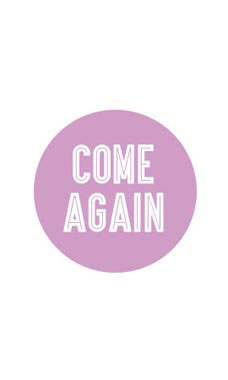 Lavender Come Again Stickers