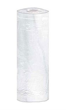 White Plastic Garment Bags - Large