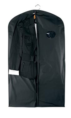 40 inch Black Polyester Suit Covers