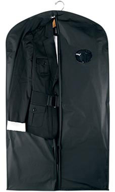 54 inch Black Polyester Suit Covers