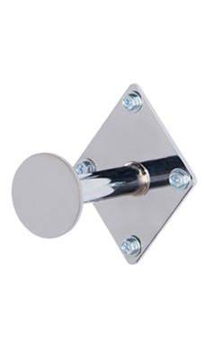 3 inch Chrome Fitting Room Hook