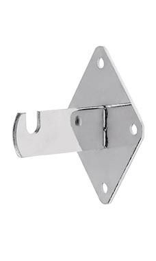 Chrome Grid Wall Mount Bracket