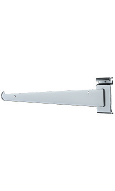 12 inch Chrome Metal Shelf Bracket for Wire Grid