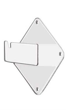 White Grid Wall Mount Bracket