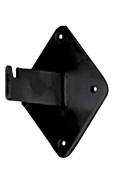 Black Wall Mount Bracket for Grid