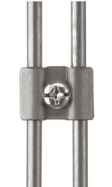 Boutique Raw Steel Grid Connector