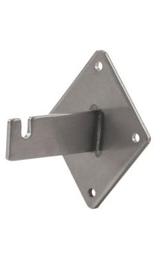 Boutique Raw Steel Grid Wall Bracket