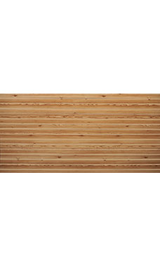 4 x 8 foot Horizontal Knotty Pine Slatwall Panel