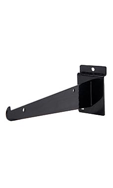 8 inch Black Shelf Bracket for Slatwall