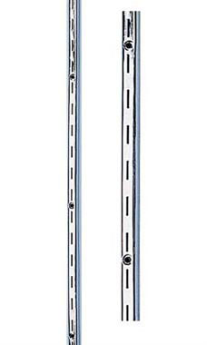 Heavy Duty 7 foot Chrome Slotted Standard
