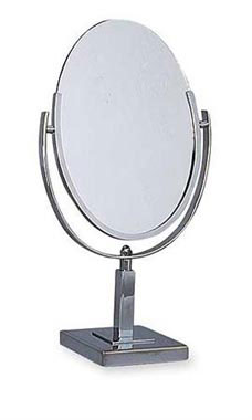 Oval Tilting Countertop Mirror