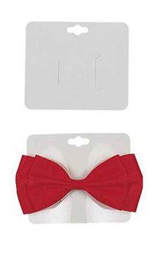White Barrette Cards
