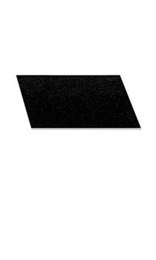 Small Rectangular Black Velvet Jewelry Pad/Tray Liners
