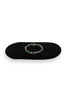 Small Oval Black Velvet Jewelry Pad/Tray Liners