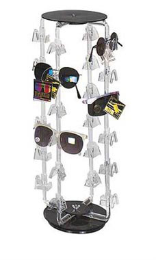 24 Pair Rotating Eyeglass/Sunglass Display