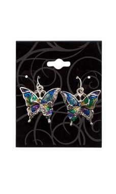 Black Swirl Earring Cards