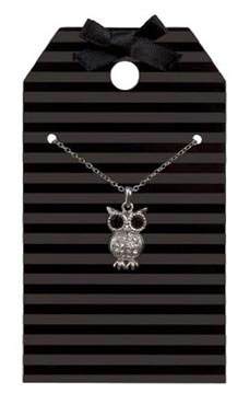 Black Stripes Necklace Holder