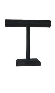 Medium Black Velvet T-Bar Display