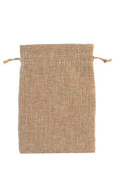 5 x 7 inch Linen Drawstring Pouches