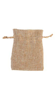 3 x 4 inch Linen Drawstring Pouches