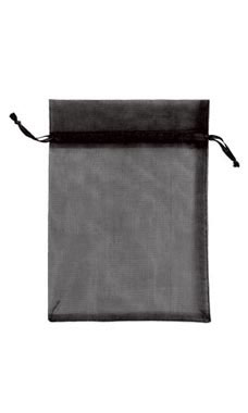 "Black Organza Pouches 5"" X 7"""