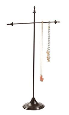 Large T-Bar Bronze Jewelry Display