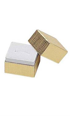 Gold Embossed Ring Boxes