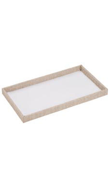 Large Open Top Linen Tray