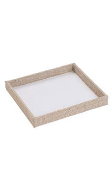 Small Open Top Linen Tray