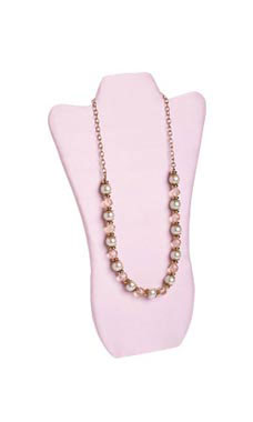 Tall Pink Necklace Display Easel