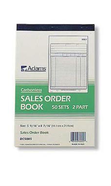 Carbonless Sales/Purchase Order Book