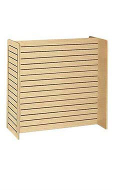 Maple Slatwall Gondola Unit - 24'' x 48'' x 48''