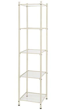 Boutique Ivory Open Display Tower