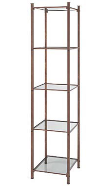 Boutique Cobblestone Open Display Tower