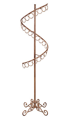 Boutique Cobblestone Spiral Scarf Rack