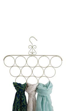 Boutique Ivory Scarf Hanger