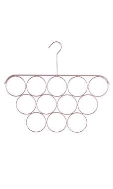 Rose Gold Scarf Hanger