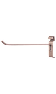 Rose Gold 10 in Peg Hook for Wire Grid