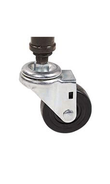 3 inch Non-Locking Caster for Pipe Clothing Rack