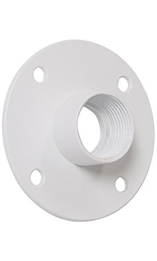 Boutique White Pipe Wall Mount Bracket