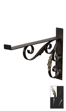 Boutique Vintage 12 inch Wall Mount Shelf Brackets