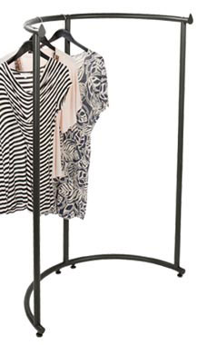Boutique Vintage Half Round Clothing Rack
