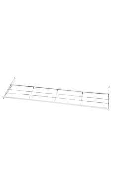 Adjustable Chrome Wire Shoe Shelf