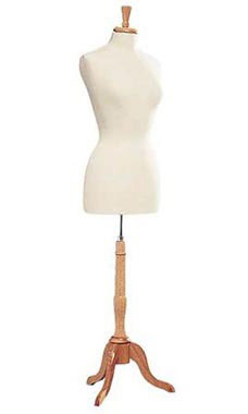 Female Off White Jersey Dressmaker Form