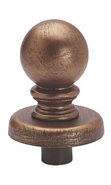 Boutique Cobblestone Ball Finial for Dressmaker Forms