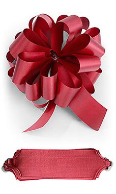 Red Pull Bows- 5 12- 50 Pack