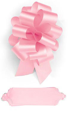 Pink 5½ inch Pull Bows