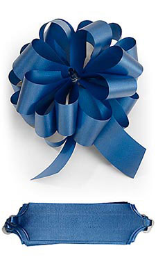 Royal 5½ inch Blue Pull Bows