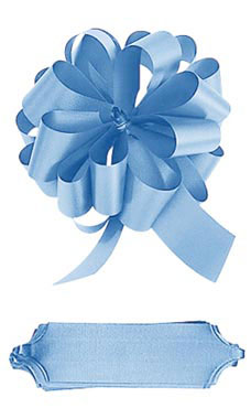 Light Blue Pull Bows
